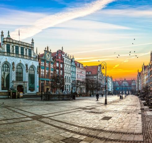 Flüge: Danzig / Polen (August-September) Hin- und Rückflug mit Ryanair von Hamburg ab 19€