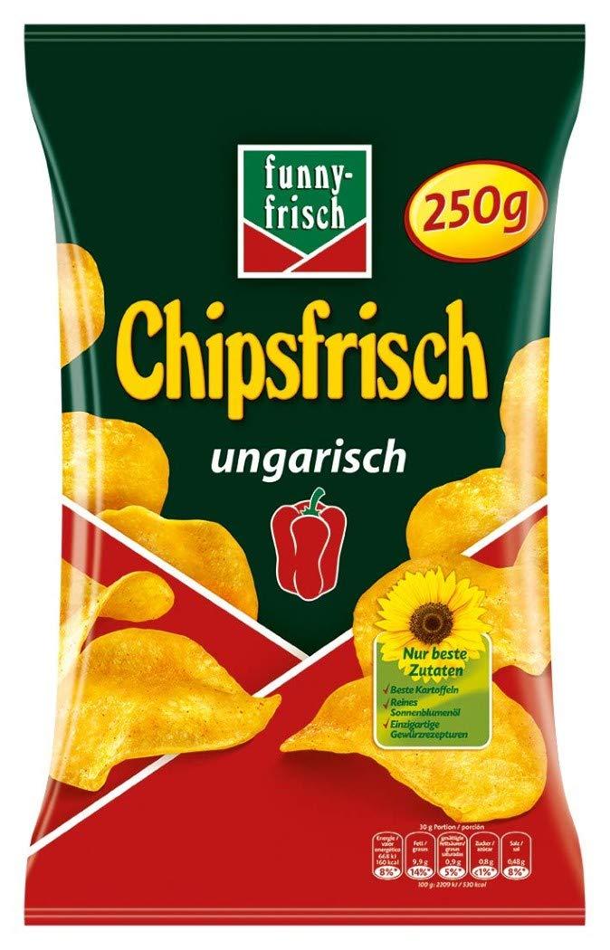 [LOKAL][Lebensmittel Sonderposten Gießen] Funny-Frisch Chipsfrisch Ungarisch 250g