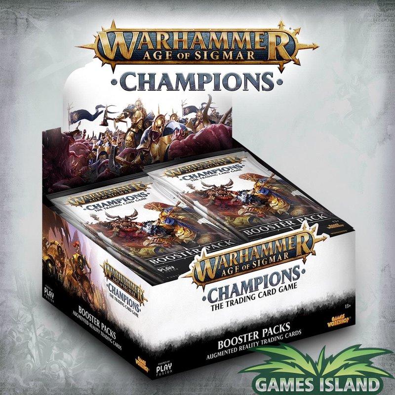 Warhammer Age of Sigmar: Champions - Diverse Displays und Sets stark reduziert