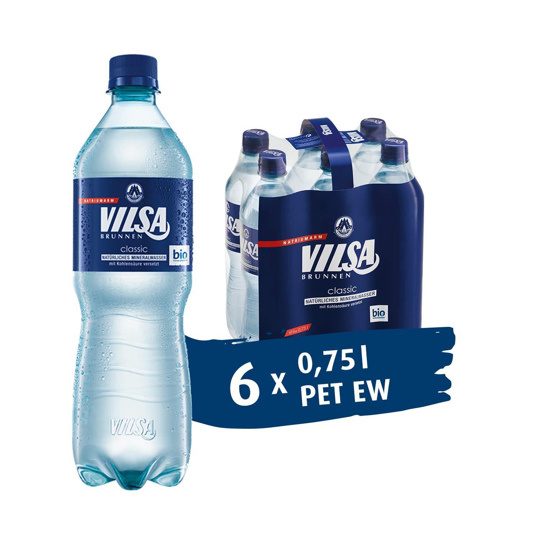 [Amazon Pantry] VILSA Mineralwasser classic 36 x 0,75l + 20x KELLOGG Bar Cacao & Hazelnut a30g
