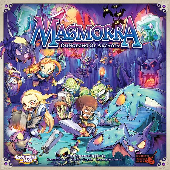 [bol.de] Masmorra: Dungeons von Arcadia (Dungeon-Crawler, Brettspiel, deutsch, 1-5 Spieler, ~60–90 Min Spielzeit, BGG 7.1)
