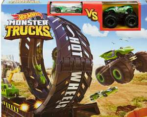Hot Wheels - Monster Trucks Looping Challenge Spielset [inkl. 2 Fahrzeuge]