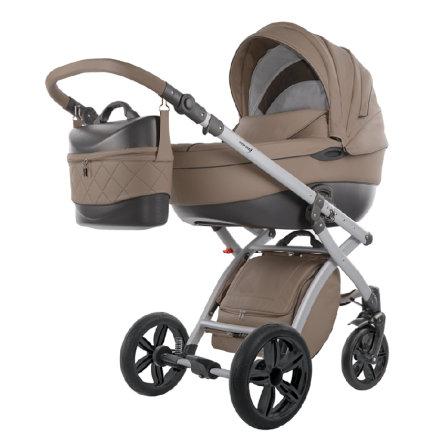 Knorr-Baby Alive Pure in Cappuchino für 318,49€ inkl Versand | Kinderwagen mit Babywanne und Sportwagenaufsatz