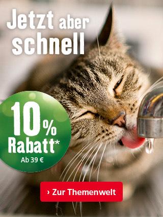 Fressnapf: 10% Rabatt (Neu- und Bestandskunden) ab 39€ Einkaufswert