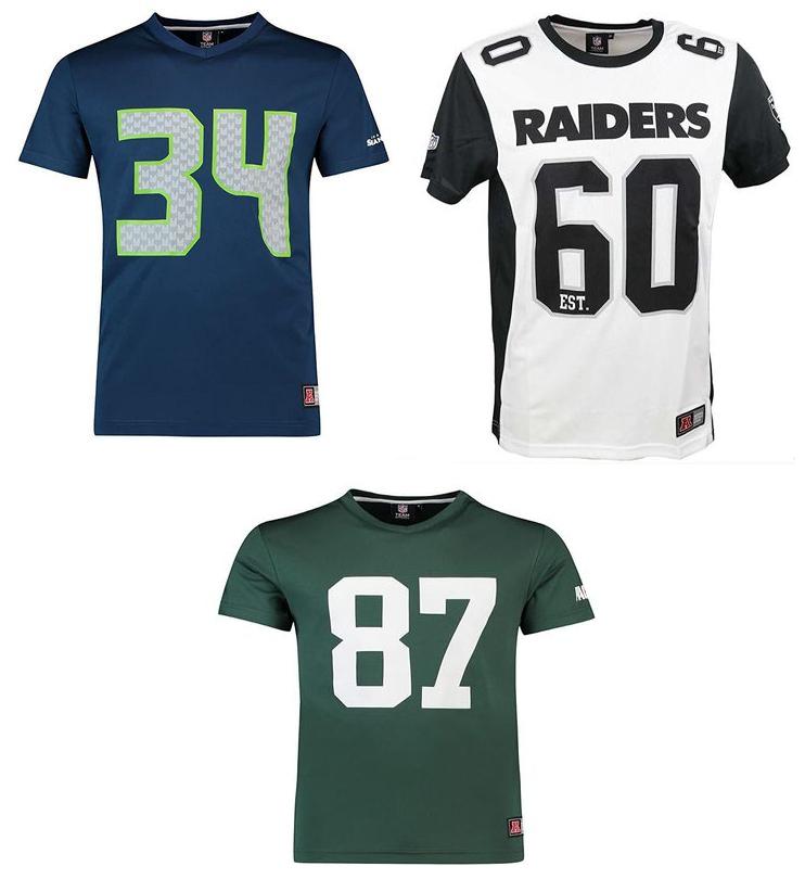 Majestic NFL Shirts: Green Bay Packers #87 Nelson, Seattle Seahawks #Rawls 34 oder Oakland Raiders Est. 60 für je 15,94€