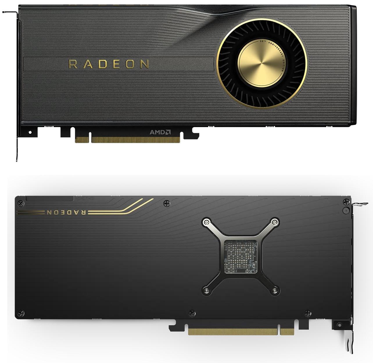 NBB-Wochenangebote: z.B. AMD Radeon RX 5700 XT 50th Anniversary (1830-1980MHz Boost, 8GB GDDR6, 225W TDP, 8-Pin & 6-Pin PCIe, Dual-Slot)