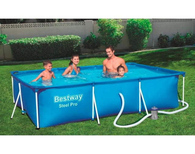 [POCO] Bestway Steel Pro Frame Pool-Set [NUR ONLINE]