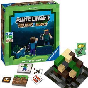 Minecraft Builders & Biomes - Brettspiel für 19,99€ (Saturn Abholung)
