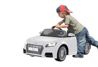 JAMARA KIDS Ride On Car Audi TTS Roadster Ride-On Car, Weiß
