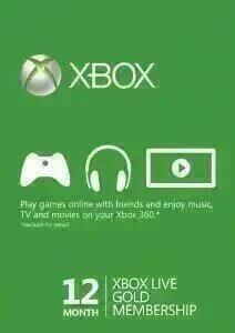 12 Monate Xbox Live Gold für 21,94€ (CDKeys VPN BR)
