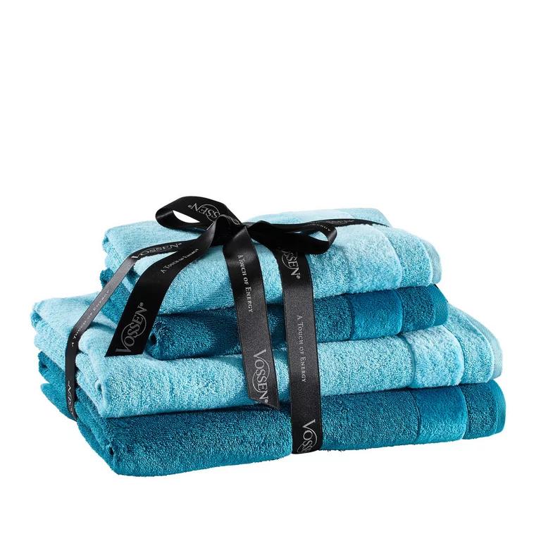 Vossen Frottier-Set 4teilig 2 Duschtücher 2 Handtücher 3 versch. Farbkombinationen für 24,93€ - 15fach Payback möglich [XXXLutz]