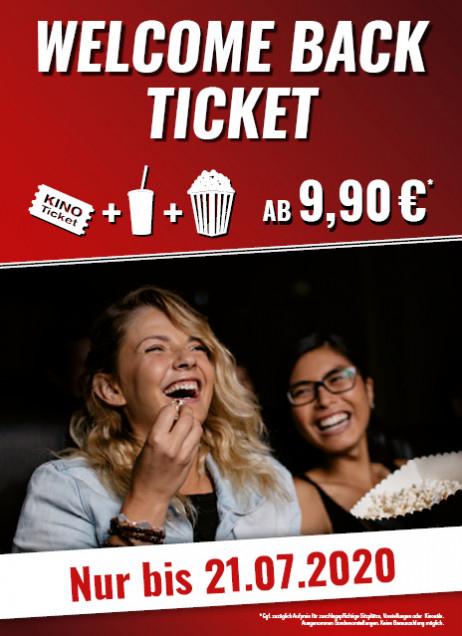 [ Kinopolis Kinos 02.07. -21.07 ] Ticket, kleines Popcorn und 0,5l Getränk für 9,90€