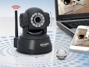 IP-Überwachungs Kamera PREMIUMBLUE PIPC-011 | Pan-Tilt, Nachtsicht, WLAN etc. | Baugleich mit Apexis J11 | mit Newsletter Gutschein ca. 50€