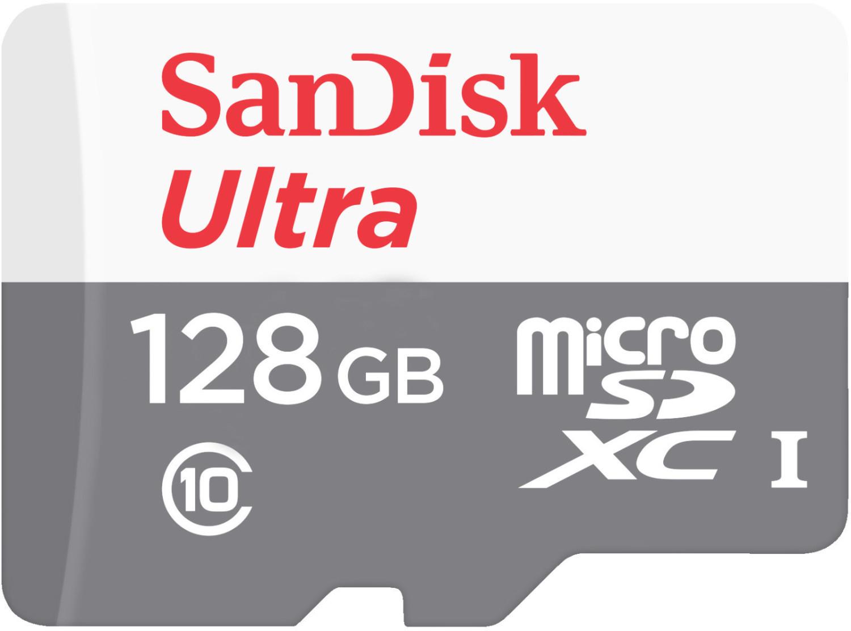SanDisk Ultra 128GB microSDXC Speicherkarte Class 10 UHS-I für 13,50€ mit Visa (sonst 15€) inkl. Versandkosten