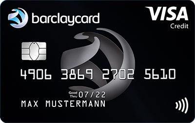 Barclaycard Visa | 50 Euro Startguthaben | kostenlose (Reise-) Kreditkarte & 100% Bankeinzug