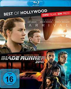 Arrival + Blade Runner 2049 Best of Hollywood Collection (2 Discs Blu-ray) für 5,55€ (Amazon)