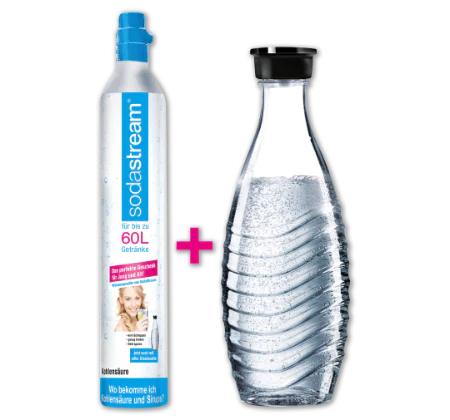 [Penny] Sodastream Reserve-Set CO2-Zylinder 60 l mit Glaskaraffe (ev. Bundesweit?)