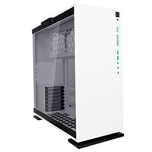 """[Vorbestellung] InWin 303C weiß (ATX, 2x 3.5"""", 2x 2.5"""", bis zu 7 Lüfter, USB-C 3.1, Glasfenster, Staubfilter, RGB-Front, 51.6l)"""