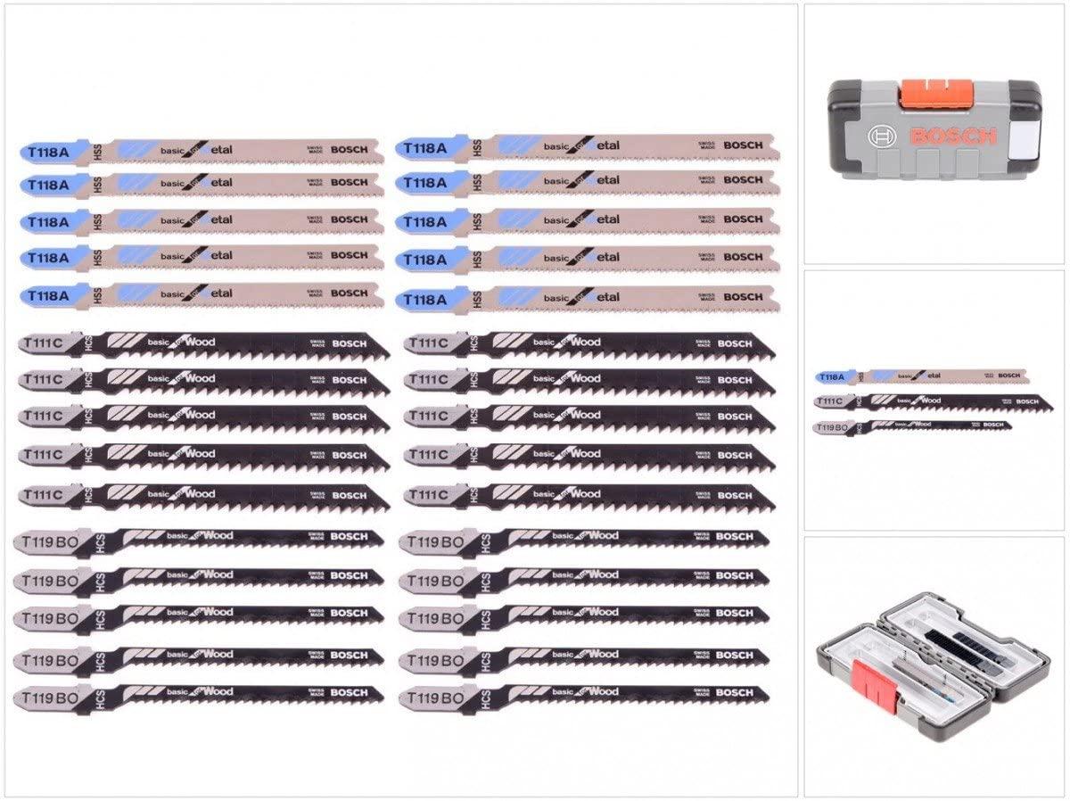 [prime] 30 Stück: Bosch Professional Stichsägeblätter im Set