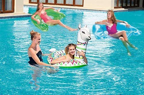 Bestway SCHWIMMRING Alpaca für 3,99€ oder Schwimmsitz Lazy Lounge für 4,99€, Globus Supermarkt