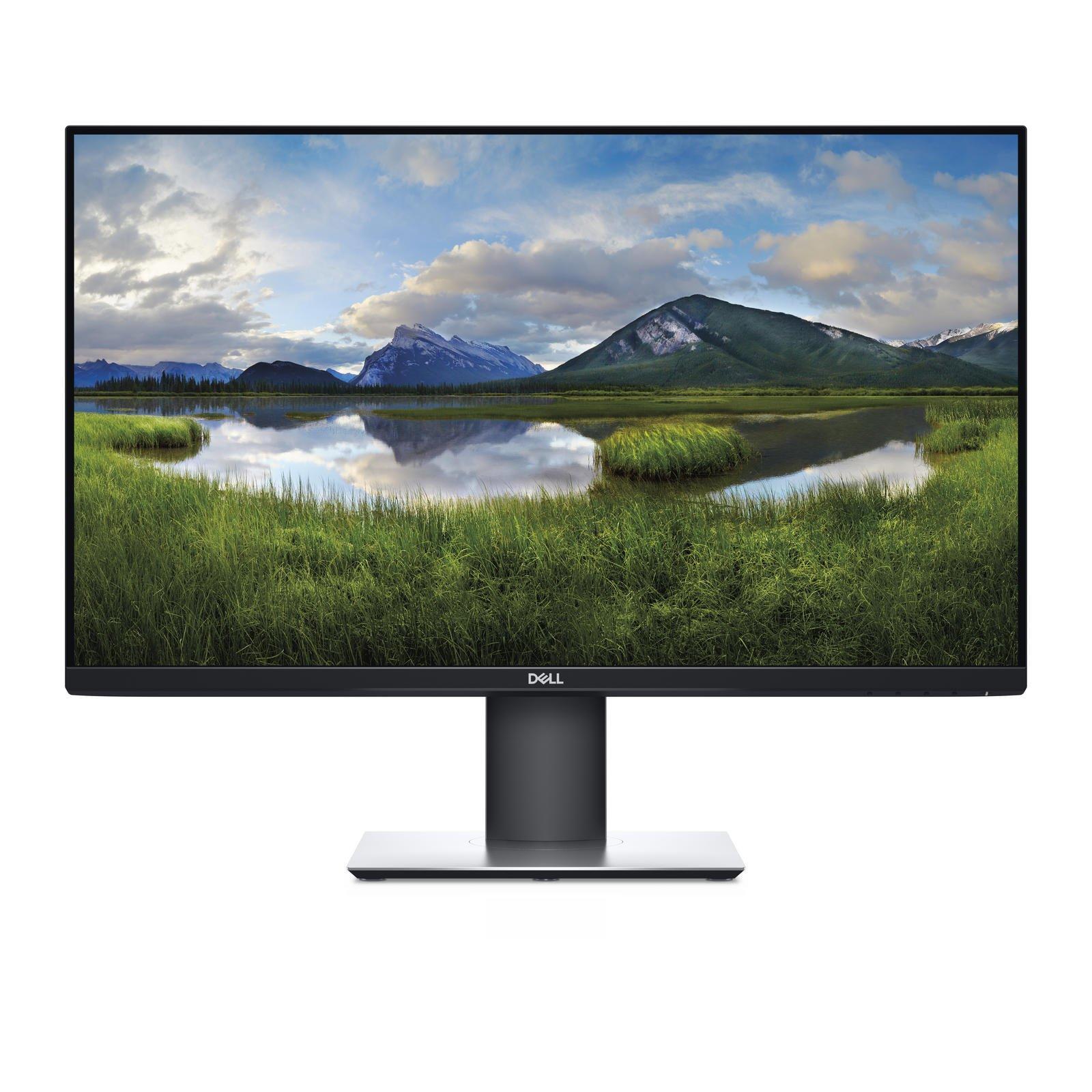 "Dell P2720D Monitor ( 27""/ 68,6cm, 2560x1440, IPS, 8ms, 350 cd/m², HDMI, DisplayPort, USB, VESA-Halterung, Höhenverstellung )"
