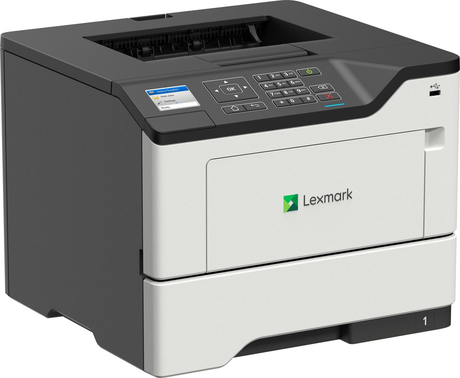 Lexmark B2650dw Monolaserdrucker (A4, 1200x1200dpi, 47S/min, 650 Blatt, Duplexdruck, Farbdisplay, WLAN, LAN, USB, Direct Print, 4J Garantie)