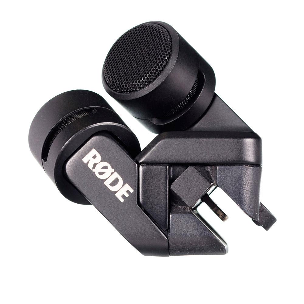 Rode iXY Lightning Aufsteck Stereomikrofon für iPhone/iPad (für Lightning Anschluss)