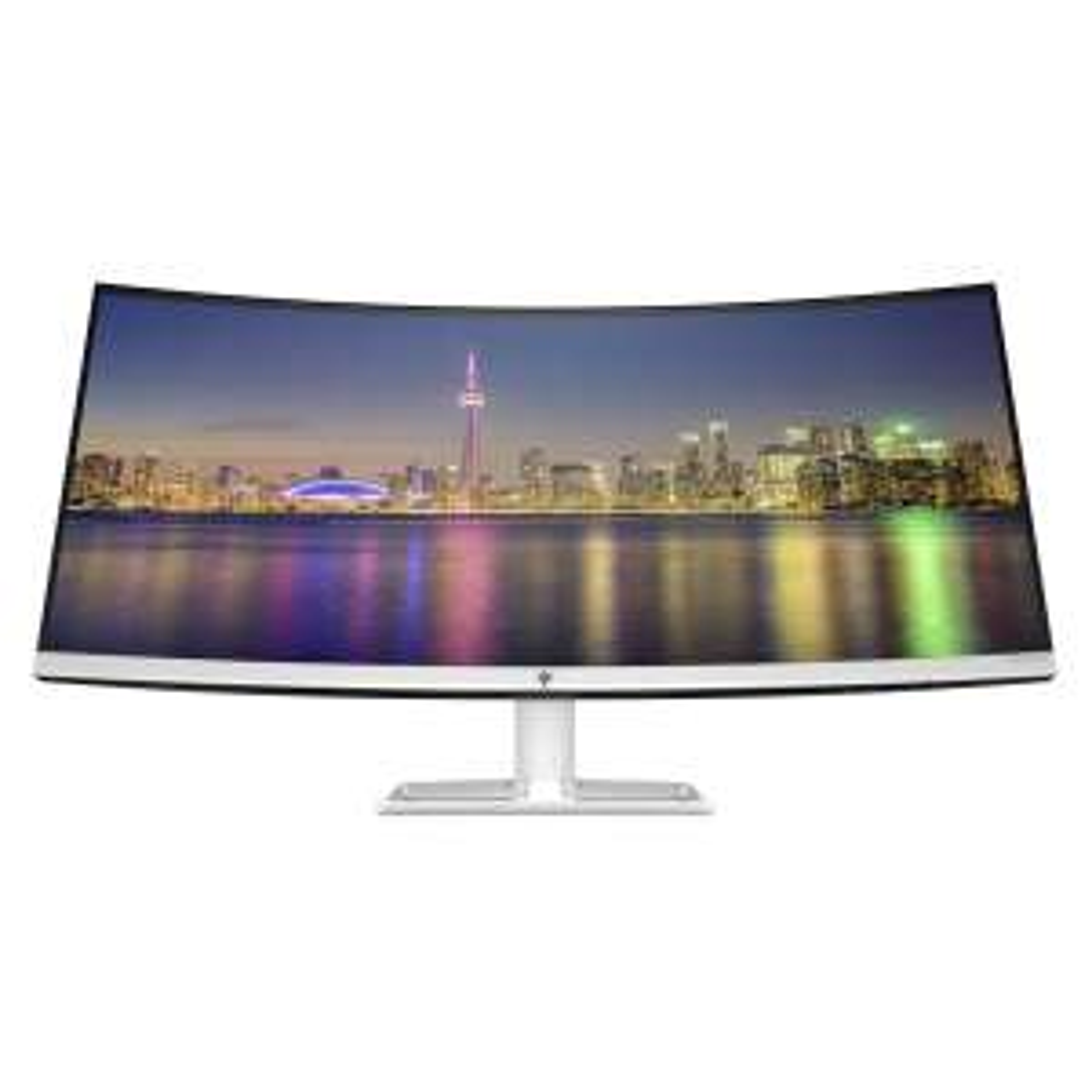 HP 34f Curved Display- 86 cm (34 Zoll), LED, Curved IPS-Panel, UWQHD, AMD FreeSync, USB-Hub, 75Hz [NBB]