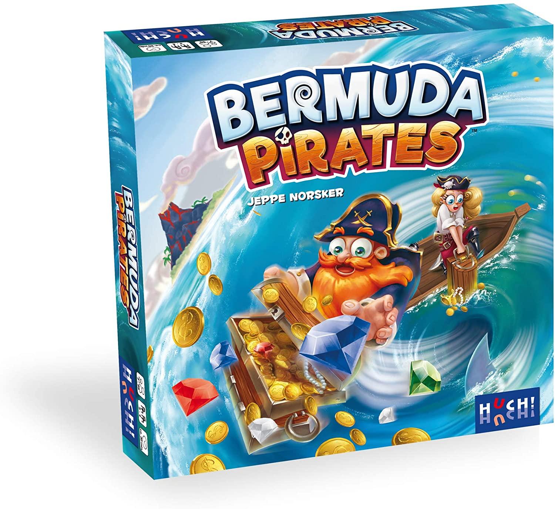 Bermuda Pirates (Brettspiel, ab 7 Jahren, 2-4 Spieler, 20-30min Spielzeit, BGG 6.6)