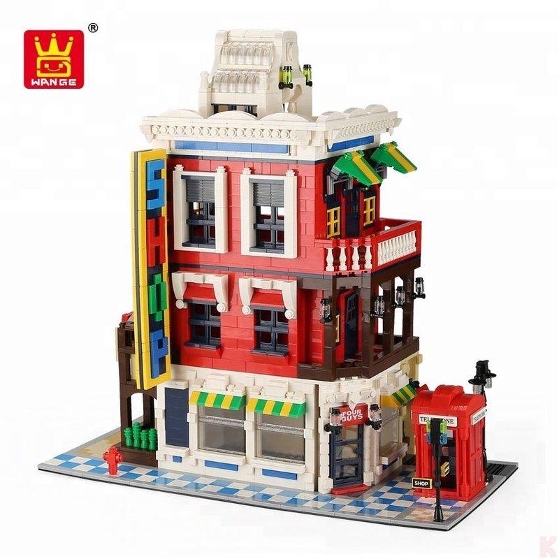 """[Klemmbausteine] Architekturset """"Eckladen / Corner Store"""" von Wange (6311) @ Klemmshop.de"""