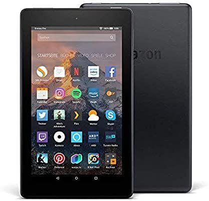 Amazon Fire 7-Tablet, 16 GB, Schwarz, ohne Spezialangebote (vorherige Generation – 7.) [Amazon]