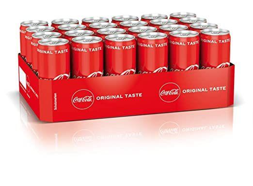 24x0,33l Coca Cola Classic/Zero/Energy/Cherry, Sprite, Mezzo Mix und Fanta Dosenpreis 0,41€ mit Prime*Sparabo*
