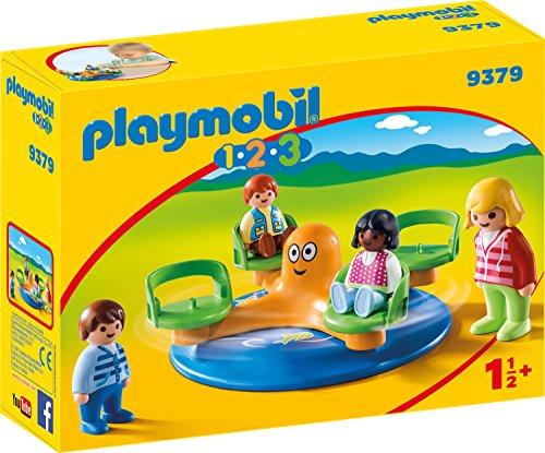 Playmobil 1.2.3 - Kinderkarussell für 7,79€ (Amazon Prime & Galeria Kaufhof Abholung)