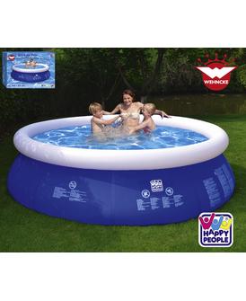 [Hagebau] Happy People 77774 - Wehncke, Quick Up Pool, 240x63 cm (24,24€ mit Kundenkarte, mit CB 10%)