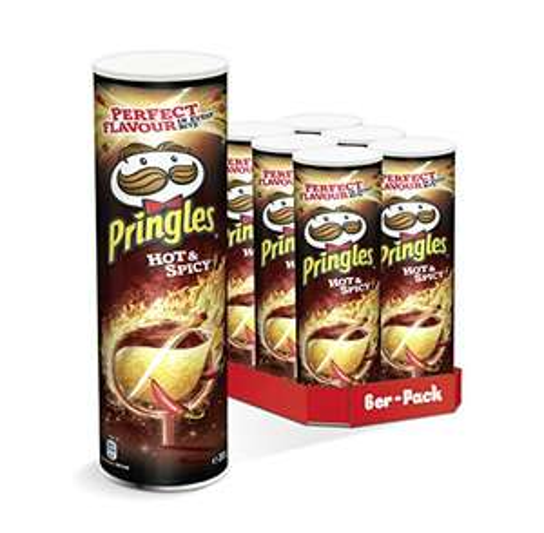 [Prime] Pringles Chips 6x 200g = 1,32€ / Dose - alle gängigen Sorten (Hot & Spicy, Sour Cream, Paprika, Original)