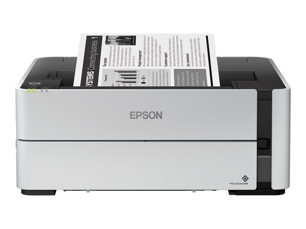 Epson EcoTank ET-M1170 - nachfüllbarer Schwarzweißdrucker (Duplex, A4, WiFi, großer Tintenbehälter, hohe Reichweite, niedrige Seitenkosten)