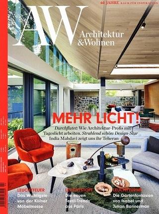 Architektur & Wohnen Abo (6 Ausgaben) für 57,40 € mit 45 € BestChoice-Universalgutschein (Kein Werber nötig)
