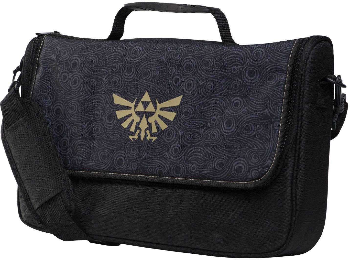 PowerA Everywhere Messenger Bag - Zelda (Nintendo Switch Transport-Tasche) // in schwarz für 22,90€