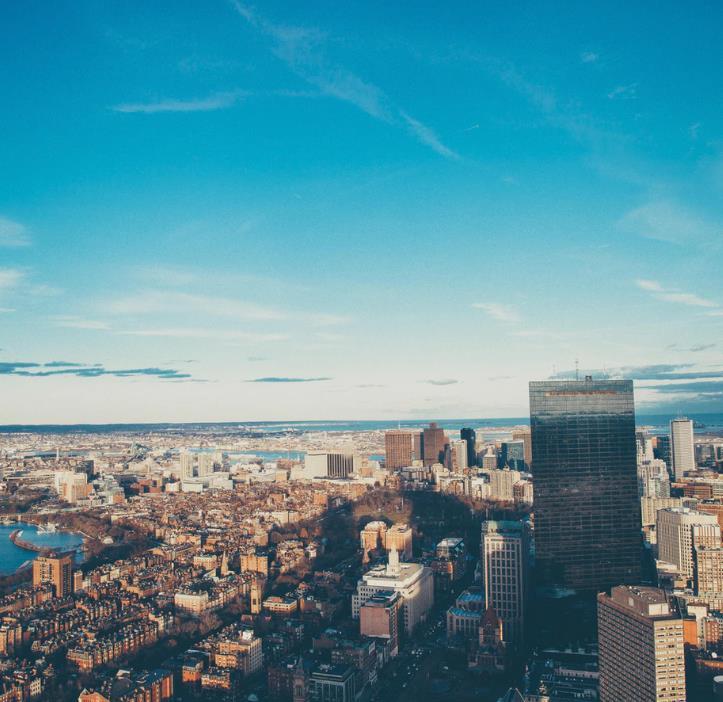 Flüge: Boston / USA (Okt-Mai) Hin- und Rückflug mit American Airlines von Amsterdam ab 253€