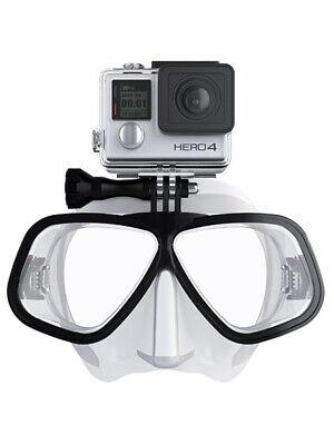 Funsport/Ebay: Tauchermaske Octomask Freediver (mit GoPro/Actioncam-Halterung)