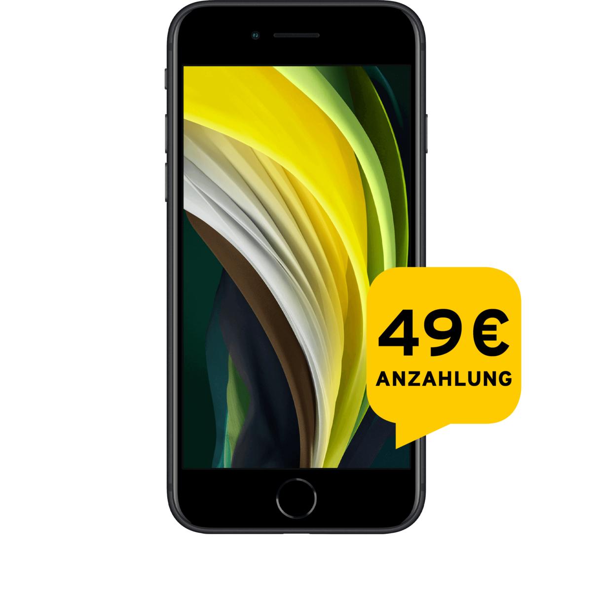 iPhone SE 2020 64/128/256 GB rot/schwarz/weiss