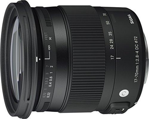 Sigma 17-70 mm f2,8-4,0 Objektiv (DC, Makro, OS, HSM) für Nikon F-Mount