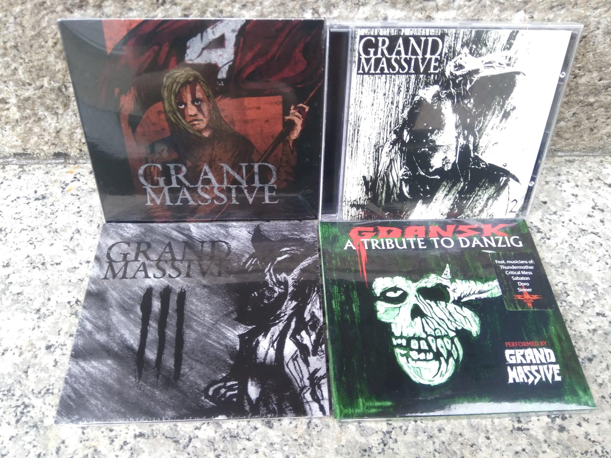 Alle 3 Grand Massive Alben + EP inkl. Versand für 20€ (2, III, A Tribute to Danzig & IV)