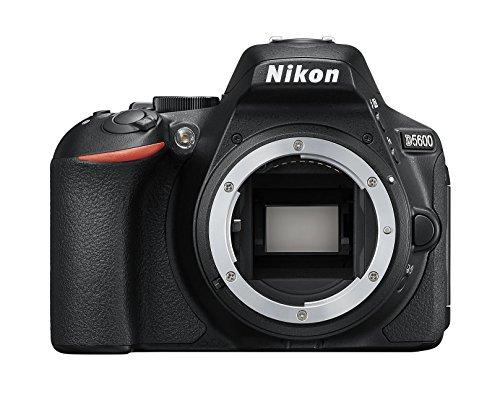 Nikon D5600 (8,1 cm (3,2 Zoll), 24,2 Megapixel) Gehäuse schwarz   AMAZON