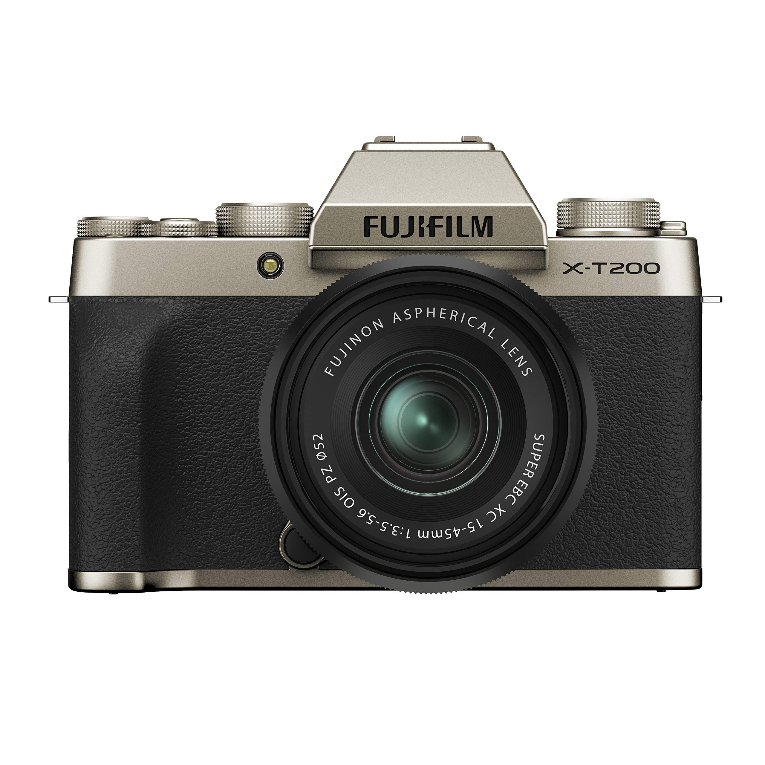 [Amazon] Fujifilm X-T200 System Camera with XC15-45mmF3.5-5.6 OIS PZ Kit