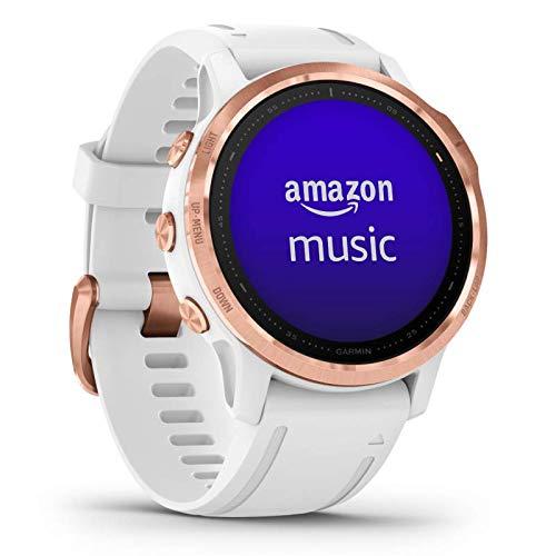 Garmin Fenix 6S Pro Smartwatch in Weiß/Roségold