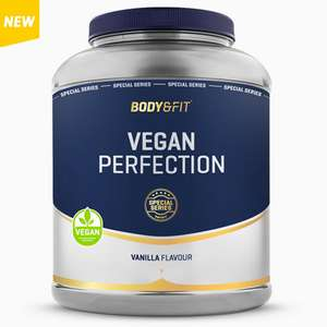 "[Body&Fit] 2262g ""Vegan Perfection - Special Series"" | 15,88€/kg | Erbsen- & Reisprotein mit Stevia gesüßt"