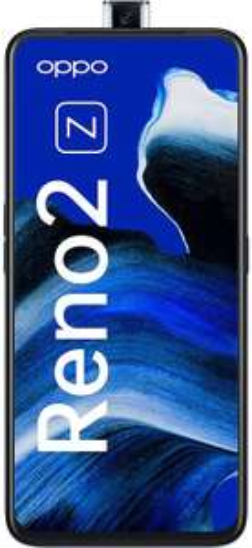 OPPO Reno2 Z Dual-SIM Smartphone 16,5 cm (6,5 Zoll) 128/8 GB, AMOLED, Quad-KI-Hauptkamera/ Pop-up-Frontkamera, black