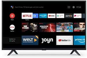 [V&V Amazon] Xiaomi Mi Smart TV 4A 32 Zoll (HD LED Smart TV, Triple Tuner, Android TV 9.0, Fernbedienung mit Mikrofon)