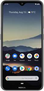 "Nokia 7.2, 6.3"", 4/64 GB, SD660, Android One, Dual-Sim, charcoal"
